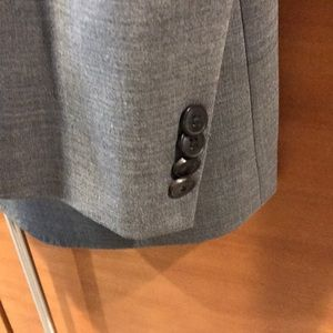 Lucky Brand Suits & Blazers - Lucky Brand Men's Charcoal 2 Button Blazer NWT